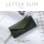 กระเป๋าสตางค์ผู้หญิง ใบยาว แบบบาง เรียบ รุ่น LETTER SLIM thumbnail 5
