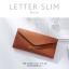 กระเป๋าสตางค์ผู้หญิง ใบยาว แบบบาง เรียบ รุ่น LETTER SLIM thumbnail 13