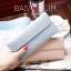 กระเป๋าสตางค์ผู้หญิง ใบยาว แบบบาง เรียบ รุ่น BASIC SLIM thumbnail 5