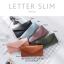 กระเป๋าสตางค์ผู้หญิง ใบยาว แบบบาง เรียบ รุ่น LETTER SLIM thumbnail 16