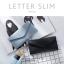 กระเป๋าสตางค์ผู้หญิง ใบยาว แบบบาง เรียบ รุ่น LETTER SLIM thumbnail 4