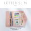 กระเป๋าสตางค์ผู้หญิง ใบยาว แบบบาง เรียบ รุ่น LETTER SLIM thumbnail 7