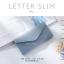กระเป๋าสตางค์ผู้หญิง ใบยาว แบบบาง เรียบ รุ่น LETTER SLIM thumbnail 14