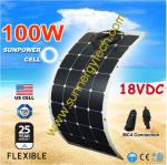แผงโซล่าเซลล์แบบยืดหยุ่น flexible solar panel