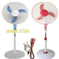 พัดลมโซล่าเซลล์ DC solar fan