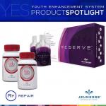 สูตรล้มช้าง Jeunesse BBB อาหารเสริมลดน้ำหนัก 2 กระปุก+Jeunesse Reserve ผสานพฤกษเคมีที่สำคัญ Resveratrol สารต้านอนุมูลอิสระช่วยยืดอายุเซลล์