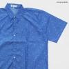 เสื้อเชิ๊ตแขนสั้น ลายลูกธนู สีน้ำเงิน