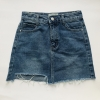 "Miniskirt / Jeans color ""L"