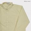 เสื้อเชื้ตสีพื้น แขนยาว สีเหลือง-1 2XL,3XL,4XL,5XL