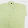 เสื้อสีพื้น ผ้า oxford 2XL , 3XL , 4XL , 5XL สีเหลือง