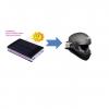 การประยุกต์ใช้การใช้งาน power bank โซล่าเซลล์ กับ หมวกกันน็อคติดกล้อง