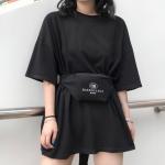 Streetwear Oversize top x bag balenciaga