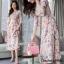 ชุดเดรสยาวชีฟอง ลายดอกFlora Premium Dress thumbnail 5