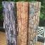 """Wallpaper Sticker วอลล์เปเปอร์แบบมีกาวในตัว """"ลายหินกาบสีส้ม"""" หน้ากว้าง 1.22m ตัดขายตามความยาว เมตรละ 250 บาท thumbnail 5"""