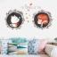 """สติ๊กเกอร์ติดผนัง สำหรับห้องเด็ก (AU) """"แมว cat I Love You""""ความสูง 70 cm ความยาว 88 cm thumbnail 2"""