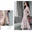 ชุดเดรสยาวชีฟอง ลายดอกFlora Premium Dress thumbnail 12