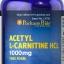 บำรุงสมอง ฟื้นฟูเซลล์ประสาท Puritan's Pride Acetyl L-Carnitine 1000 mg 60 capsule thumbnail 1