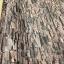 "Wallpaper Sticker วอลล์เปเปอร์แบบมีกาวในตัว ""ลายหินกาบสีน้ำตาลแดงอิฐ"" หน้ากว้าง 1.22m ตัดขายตามความยาว เมตรละ 250 บาท thumbnail 3"