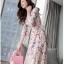 ชุดเดรสยาวชีฟอง ลายดอกFlora Premium Dress thumbnail 11