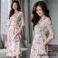 ชุดเดรสยาวชีฟอง ลายดอกFlora Premium Dress thumbnail 4
