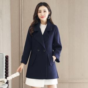 CO_7936 (pre-order) เสื้อกันหนาว เสื้อโค้ท, 2017, Winter, Blue Navy, M-L-XL-2XL