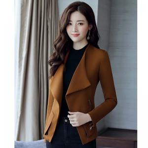 CO_7934 (pre-order) เสื้อกันหนาว เสื้อโค้ท, 2017, Winter, Peachy Pink, Caramel, Army Green, S-M-L-XL-2XL