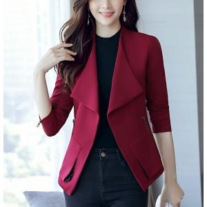 CO_7935 (pre-order) เสื้อกันหนาว เสื้อโค้ท, 2017, Winter, Red Wine, Nude, Black, Brick Red, S-M-L-XL-2XL