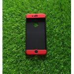 เคสประกบ 360 องศา(New) iphone7 plus/iphone8 plus(ใช้เคสตัวเดียวกัน) สีดำ-แดง