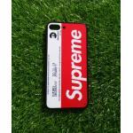 TPU ลายเส้นนูน superme สีขาว/แดง iphone7 plus/iphone8 plus(ใช้เคสตัวเดียวกัน)