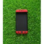 เคสประกบ 360 องศา(New) Oppo R9S สีดำ-แดง