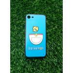 TPU ลายเส้นนูนกระดิ่งแมวสีฟ้า iphone7/iphone8(ใช้เคสตัวเดียวกัน)