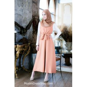 Plain Loose Muslimah Maxi Dress