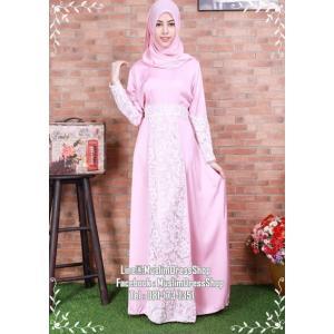 ☆ ✧A-line Lace Dress ✧ ☆ Pastel Pink