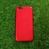 TPU Red (ไม่โชว์โลโก้) iphone6/6s