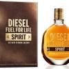 น้ำหอมแท้ (no box) Diesel Fuel For Life SPIRIT for men EDT 75 ml.