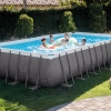 สระว่ายน้ำสำเร็จรูป Size 24 ฟุต ลึก 132 ซม.