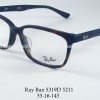 Rayban RX 5319D 5211 โปรโมชั่น กรอบแว่นตาพร้อมเลนส์ HOYA ราคา 2,900 บาท