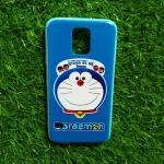 TPU ลายเส้นนูนแมวสีฟ้ากับพวกพ้อง #2 S5
