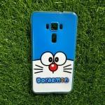 TPU ใสเส้นนูนแมวสีฟ้าตาโต Zenfone3 ZE552KL