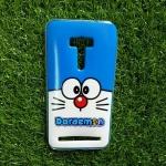 TPU ใสเส้นนูนแมวสีฟ้าตาโต Zenfone Selfie5.5(ZD551KL)