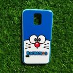 TPU ลายเส้นนูนแมวสีฟ้าตาโต S5