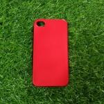 TPU Red (ไม่โชว์โลโก้) iphone4/4s