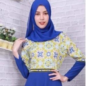 ✧☆ Floral Printed Milin Dress ☆ ✧