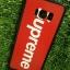 TPU ลายเส้นนูน superme สีแดง S8 thumbnail 5