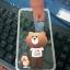 Tpu หมีน้ำตาลเกาะหลังลายหมีกับเป็ดน้อย (มีไฟ) iphone7 plus/iphone8 plus(ใช้เคสตัวเดียวกัน) thumbnail 1