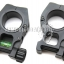 American Rifle M10 QD Tactical Mount Ring High Profile With Spirit Level (30mm/25mm,DE)