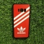 TPU ลายเส้นนูน สีแดง-ขาว S8 thumbnail 1