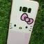 TPU ลายเส้นนูนแมวชมพูหัวโต S8 thumbnail 4