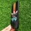 TPU ลายเส้นนูน สีดำ-ส้ม Oppo R9S thumbnail 2