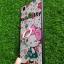 TPU ลายเส้นนูนมีแหวน ฮัลโหลคี่ติ๊ดพื้นดอกไม้ Oppo F5 thumbnail 2